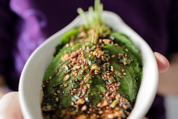 How to Make Mom's Authentic Korean Perilla Leaves Recipe