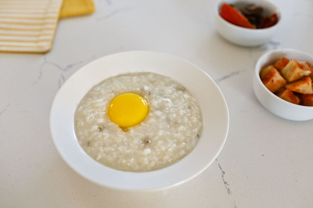 Korean abalone porridge recipe