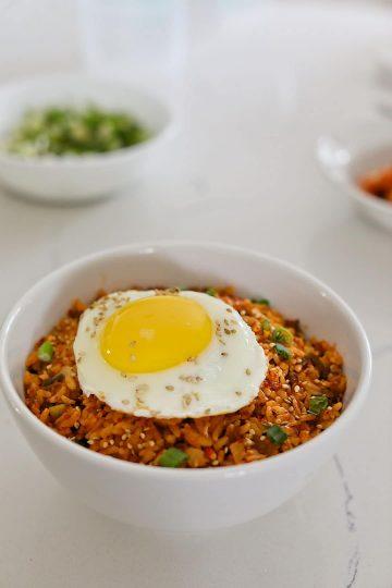 Kimchi Egg Fried Rice Recipe