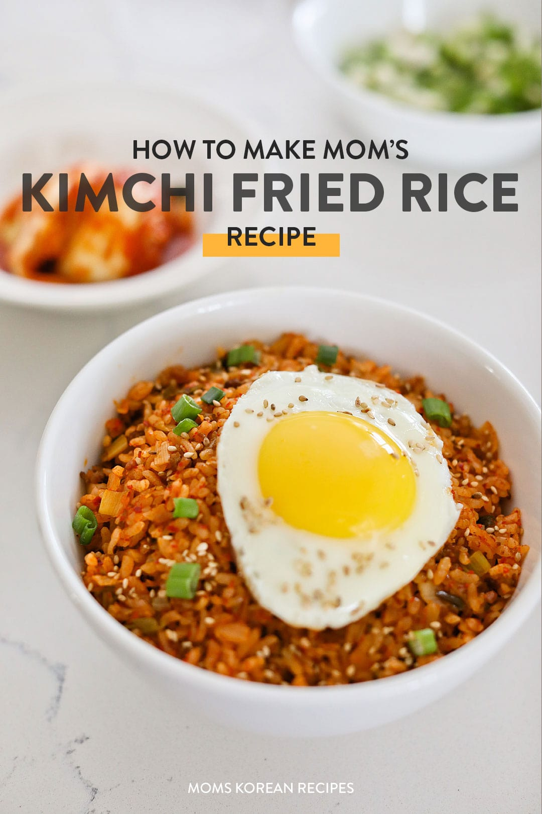 How to Make Mom's Kimchi Fried Rice Recipe (김치 볶음밥 레시피)