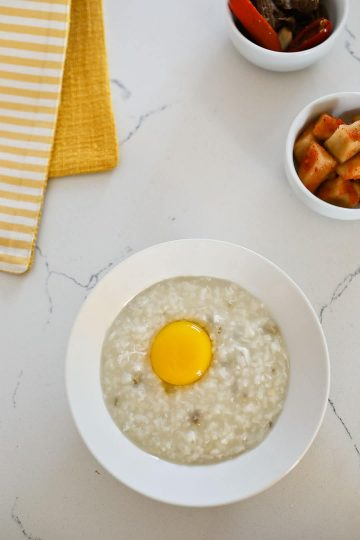 Korean abalone porridge recipe