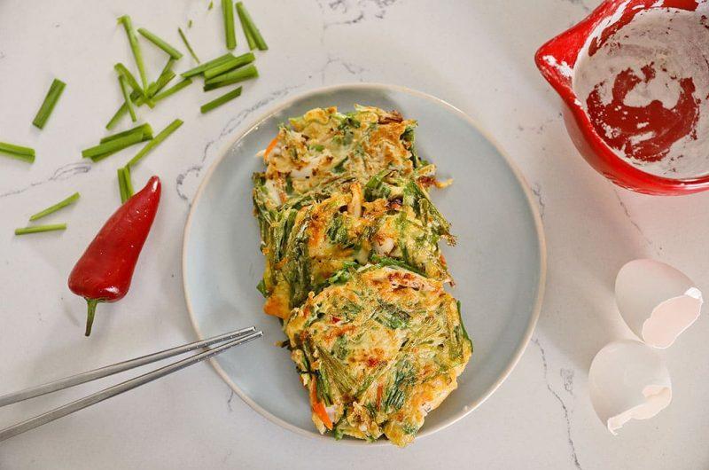 Haemul Pajeon or Korean Seafood Pancake Recipe