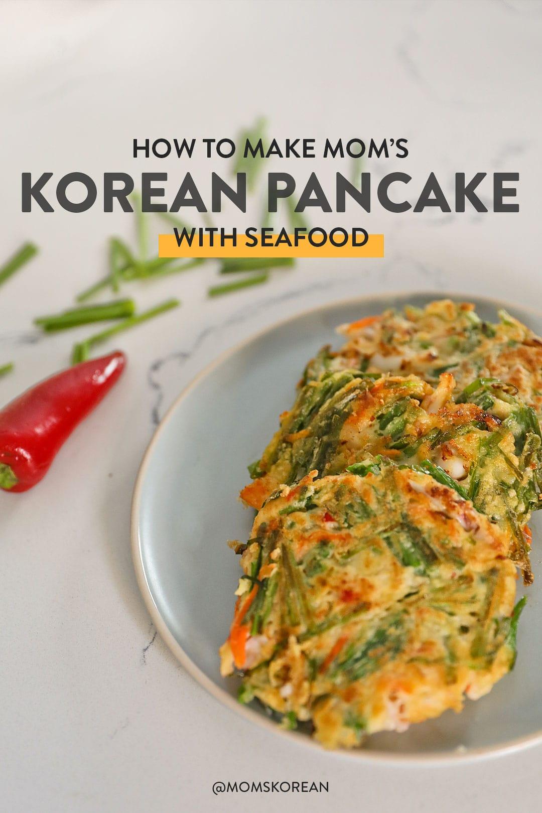 How to Make Haemul Pajeon - Korean Seafood Pancake Recipe